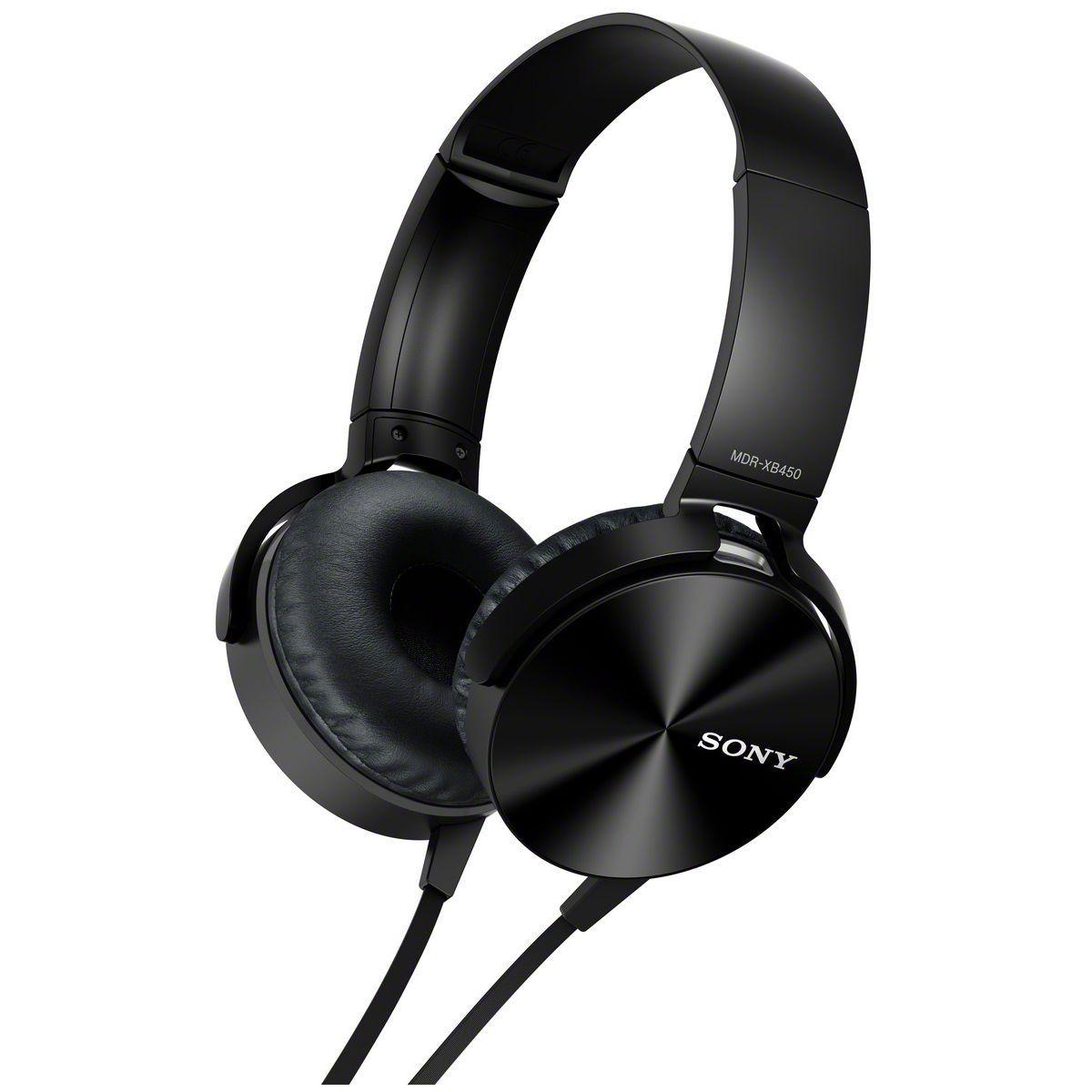 Casque audio supra-auriculaire sony mdrxb450apb - soldes et bonnes affaires à prix imbattables