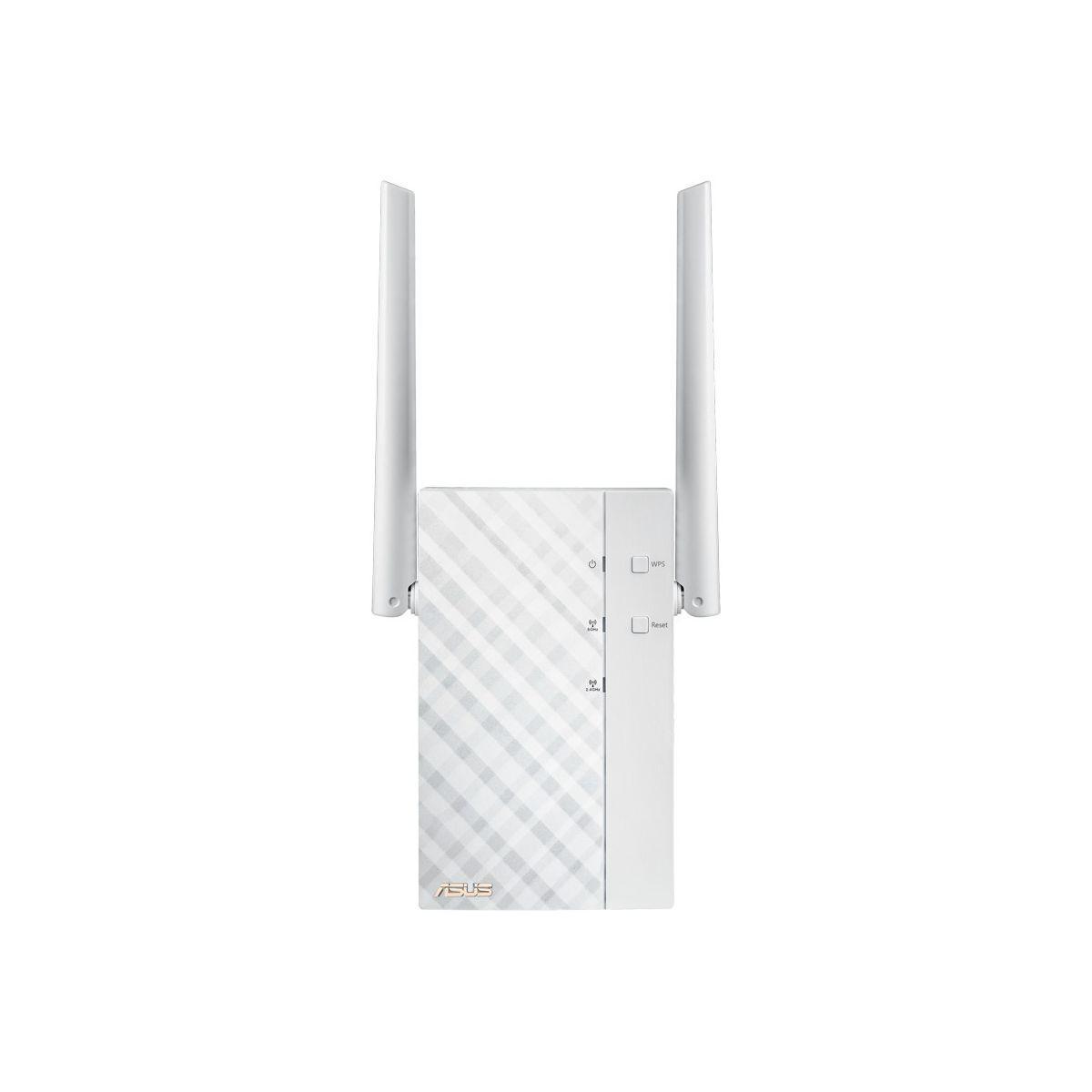 R?p?teur wifi asus double bande ac1200 - 2% de remise imm?diat...