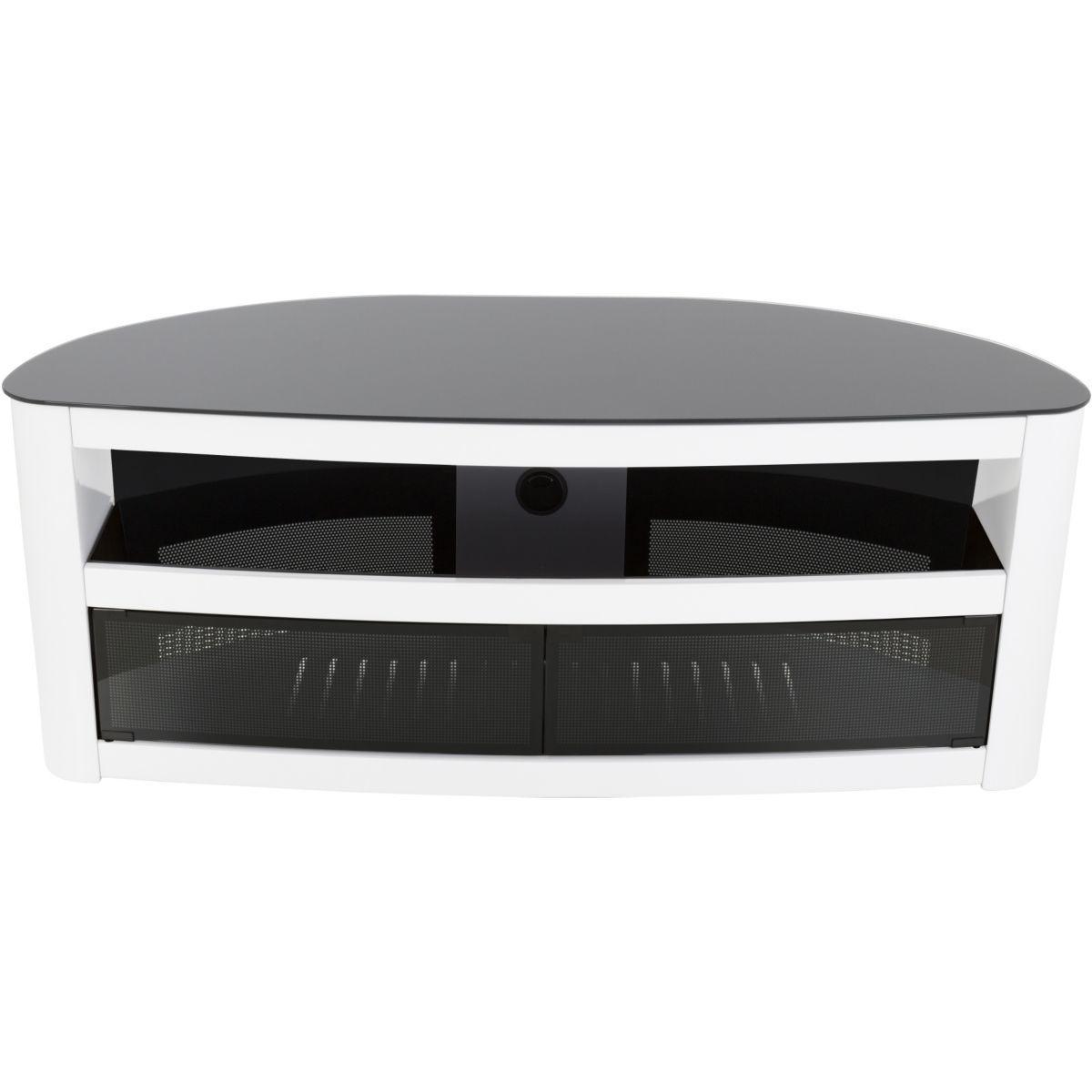 meuble tv avf burghley plus blanc brillant 1 25m vendu par webdistrib 5918428. Black Bedroom Furniture Sets. Home Design Ideas