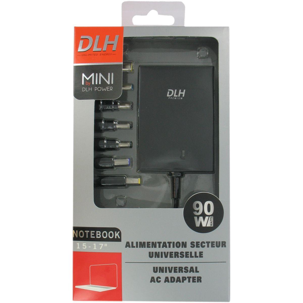 Alim dlh mini 90w notebook universelle - livraison offerte : code liv (photo)