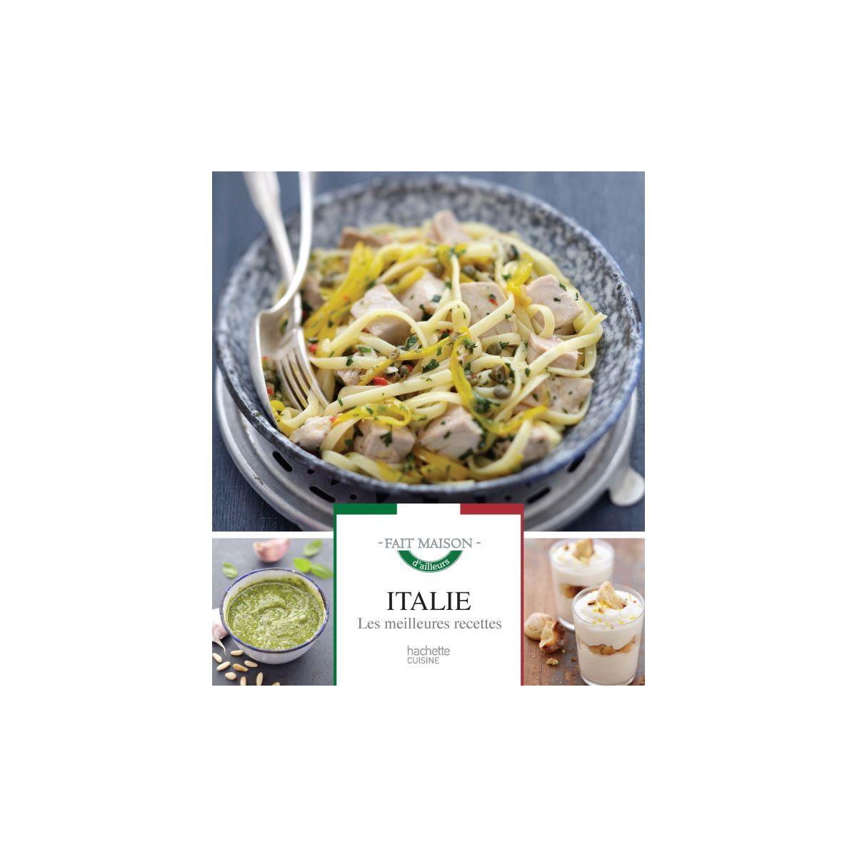 Livre de cuisine hachette italie les meilleures recettes