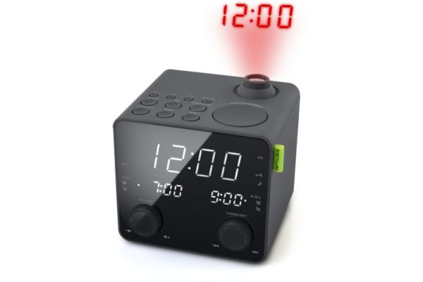 Radio-réveil muse m-189 p black - 15% de remise immédiate avec le code : multi15 (photo)