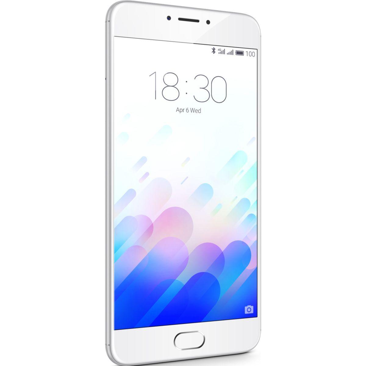 Smartphone meizu m3 note 32 go silver - soldes et bonnes affaires à prix imbattables