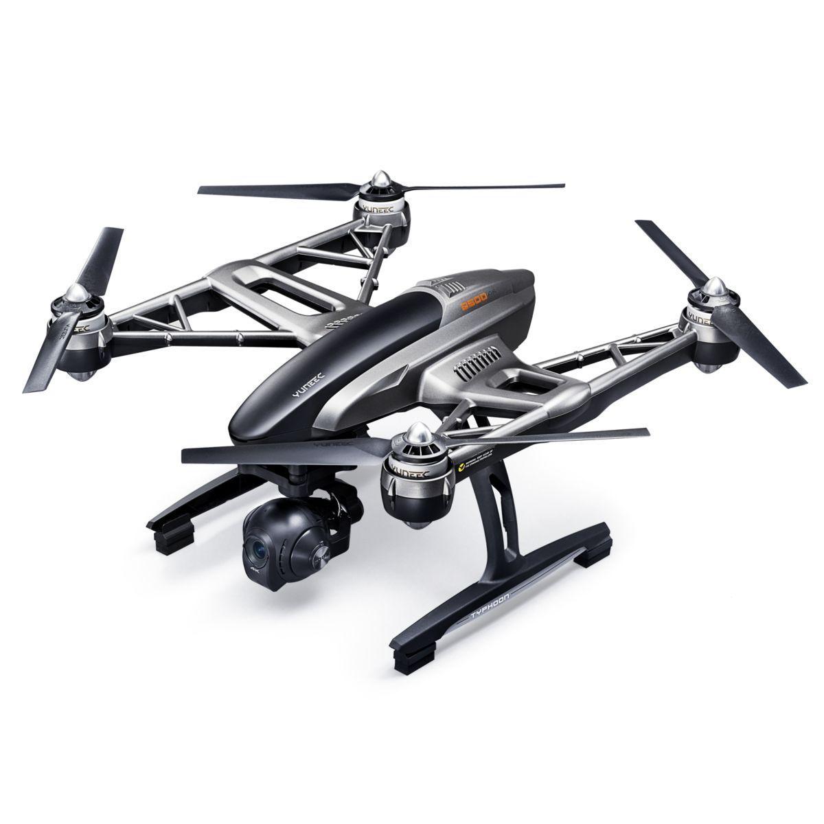 Drone yuneec q500 typhoon 4k - 2% de remise immédiate avec le code : fete2 (photo)
