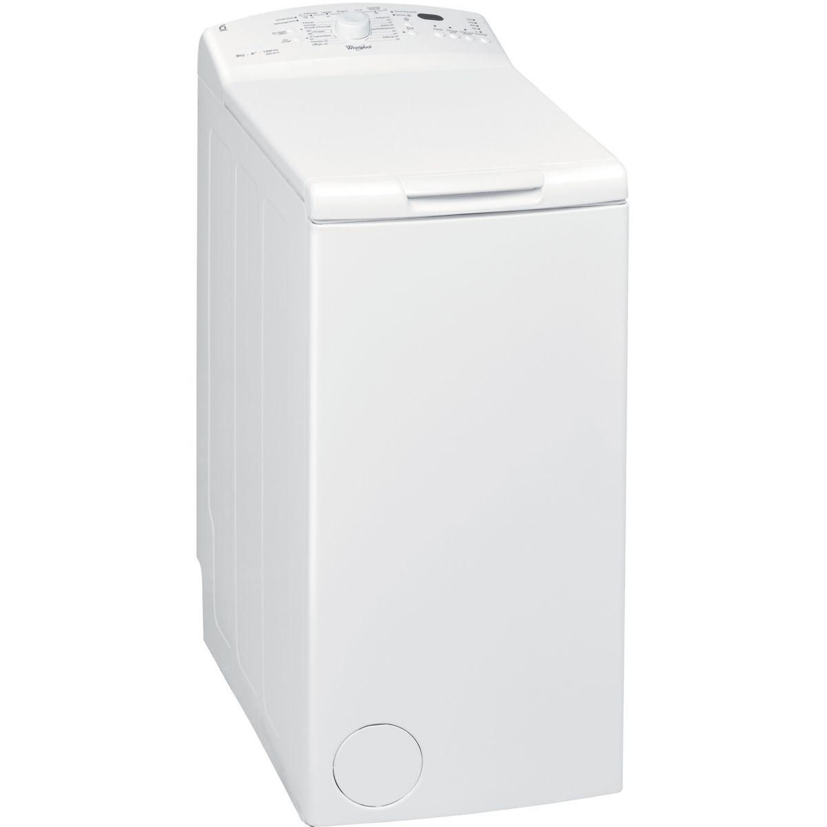 Lave-linge top whirlpool awe 6215 - 2% de remise imm�diate avec le code : wd2 (photo)