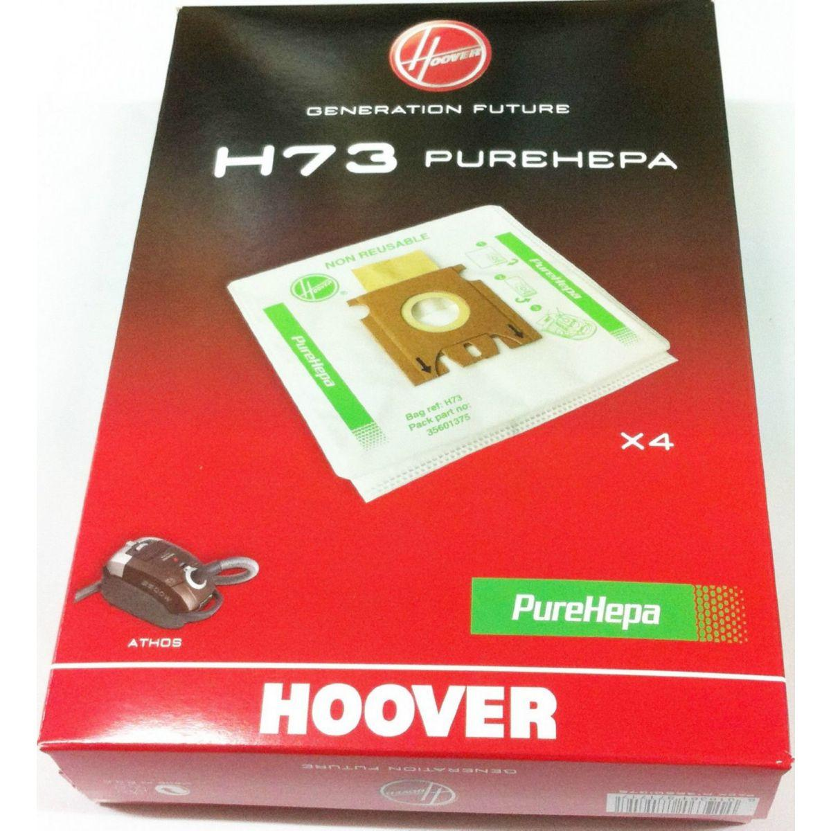 Sac aspirateur hoover h73 sac microfibre epa x4 - 20% de remise imm�diate avec le code :