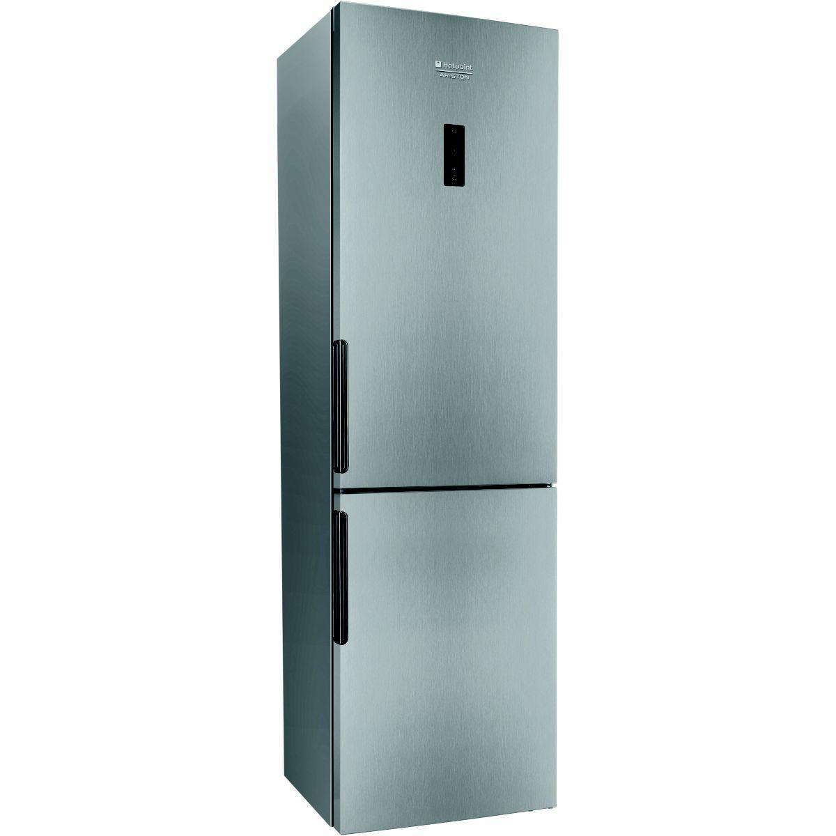 Réfrigérateur congélateur en bas hotpoint lh8ff2ox - 10% de remise : code gam10 (photo)