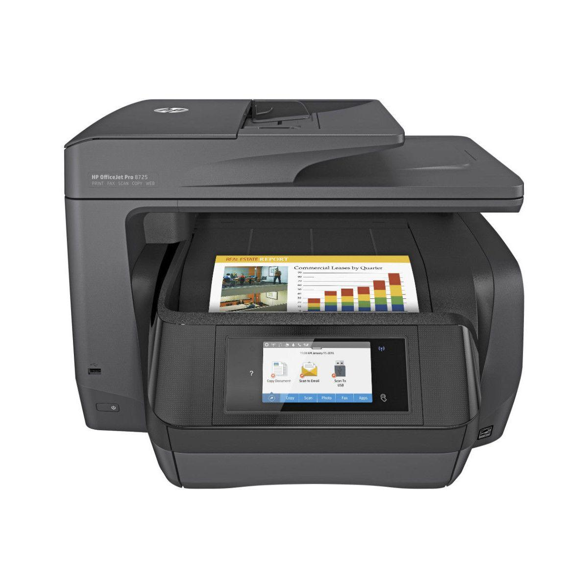 Imprimante jet d'encre hp office jet pro 8725