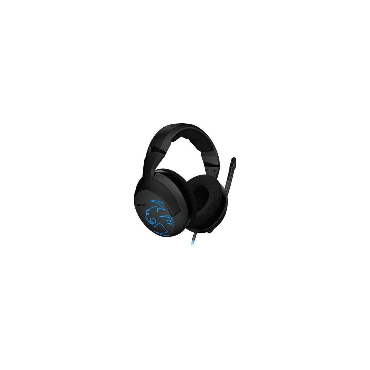Casque micro gamer roccat kave xtd stereo - premium stereo headset (photo)