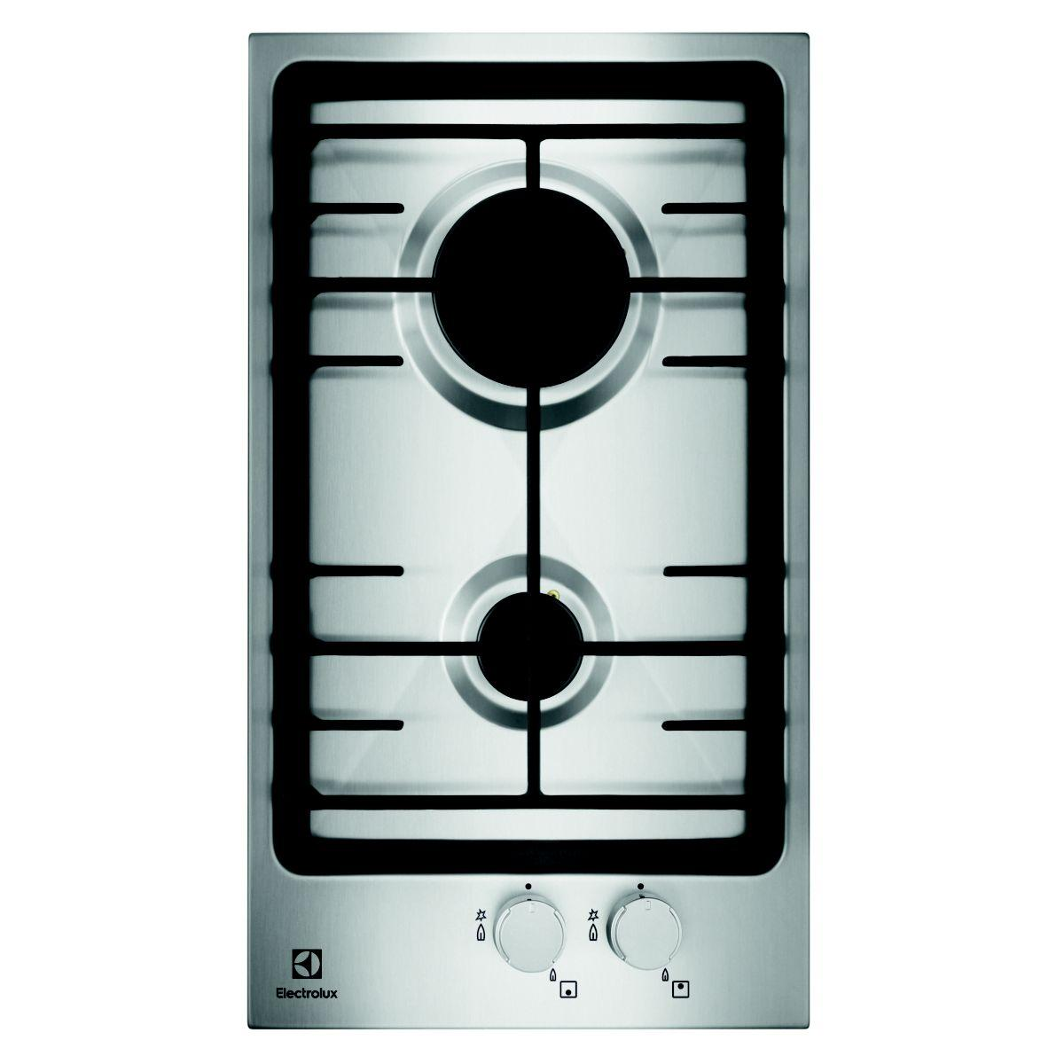 Domino gaz electrolux egg3322nvx - livraison offerte : code premium (photo)