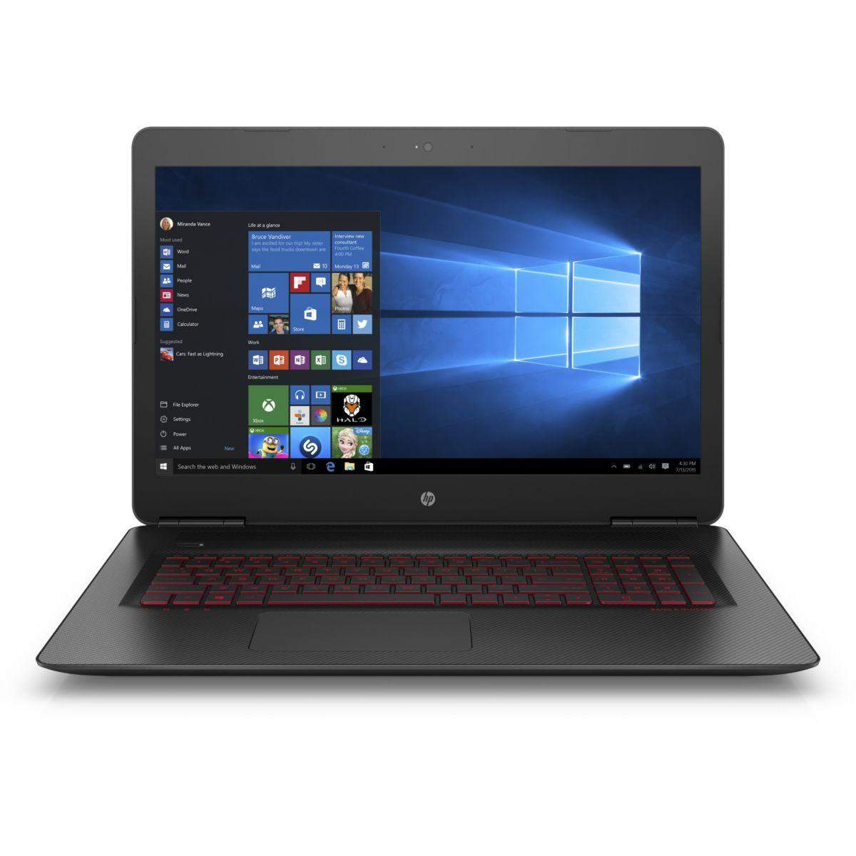 Pc portable gamer hp omen 17-w003nf (photo)