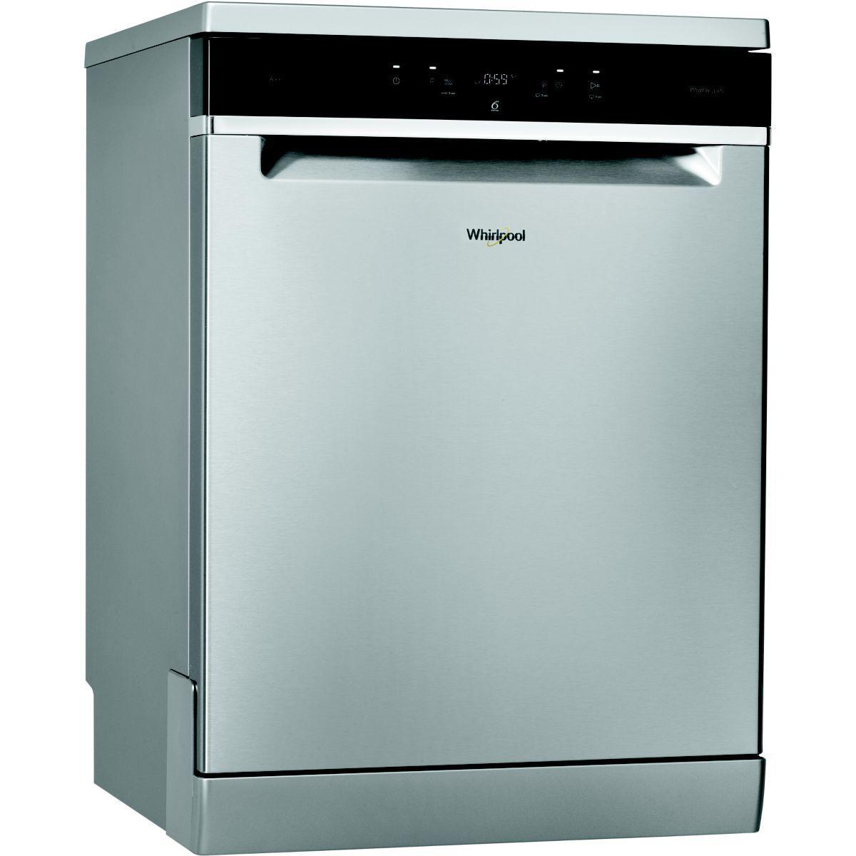 Lave vaisselle 60 cm whirlpool wfc 3c26px inox - 10% de remise imm�diate avec le code : gam10 (photo)