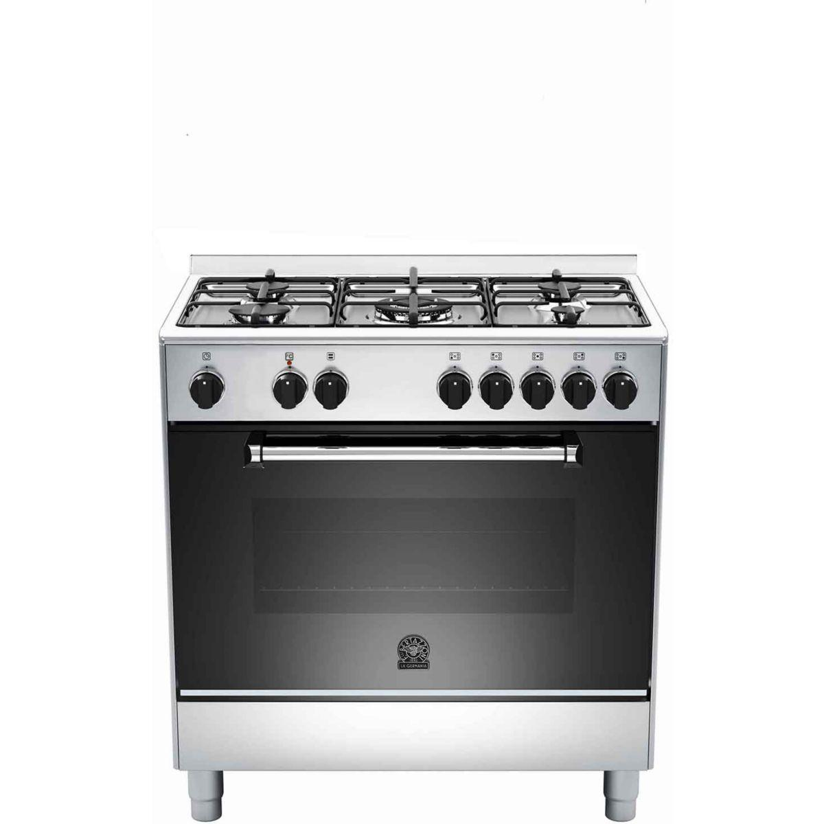 Piano de cuisson mixte bertazzoni germania am85c61dxt (photo)