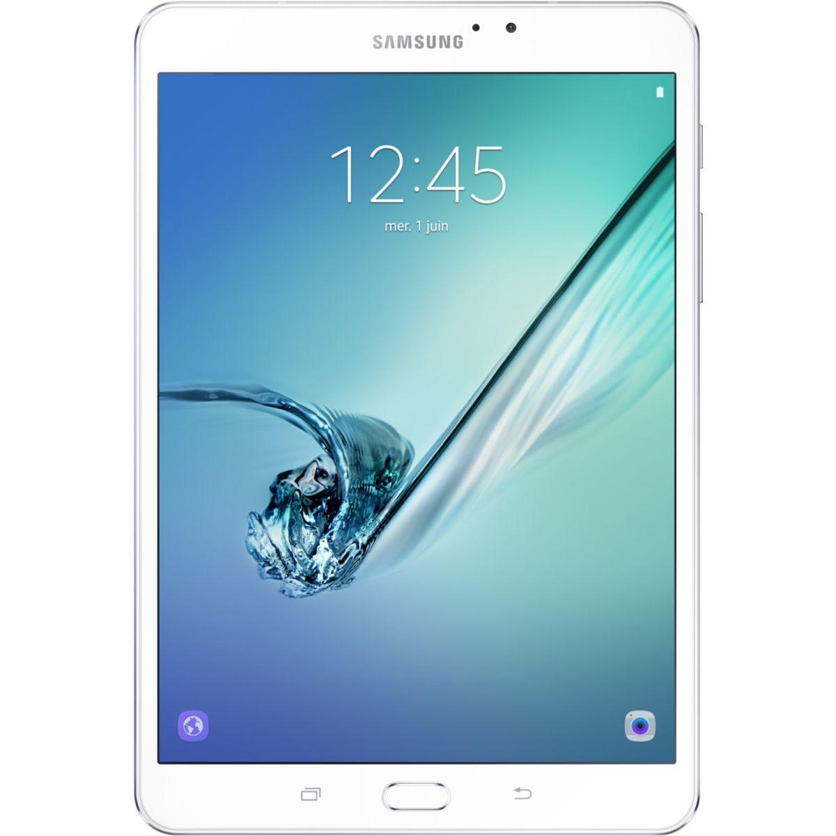 Tablette android samsung galaxy tab s2 8'' 32go blanc (photo)