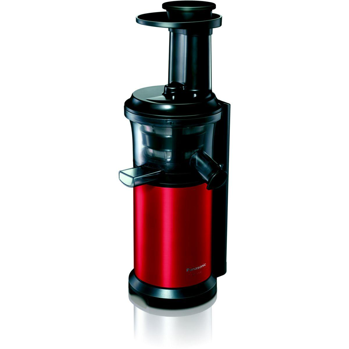Extracteur jus panasonic mj-l500rxe roug - 2% de remise imm�diate avec le code : noel2 (photo)