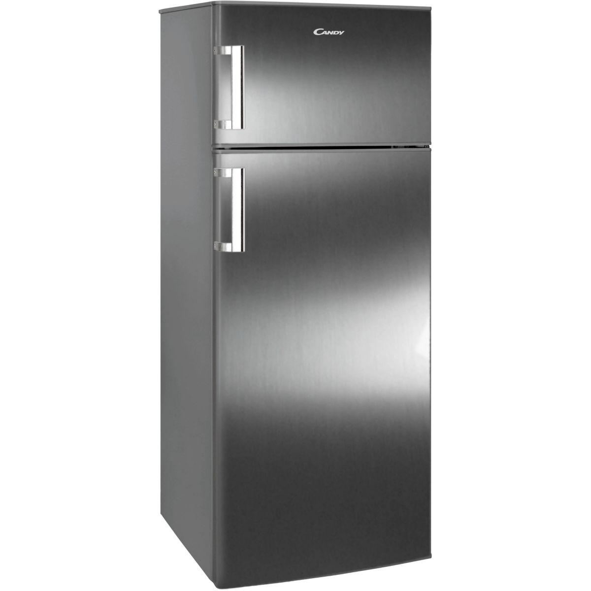 refrigerateur 2 portes candy ccds6172fxh. Black Bedroom Furniture Sets. Home Design Ideas
