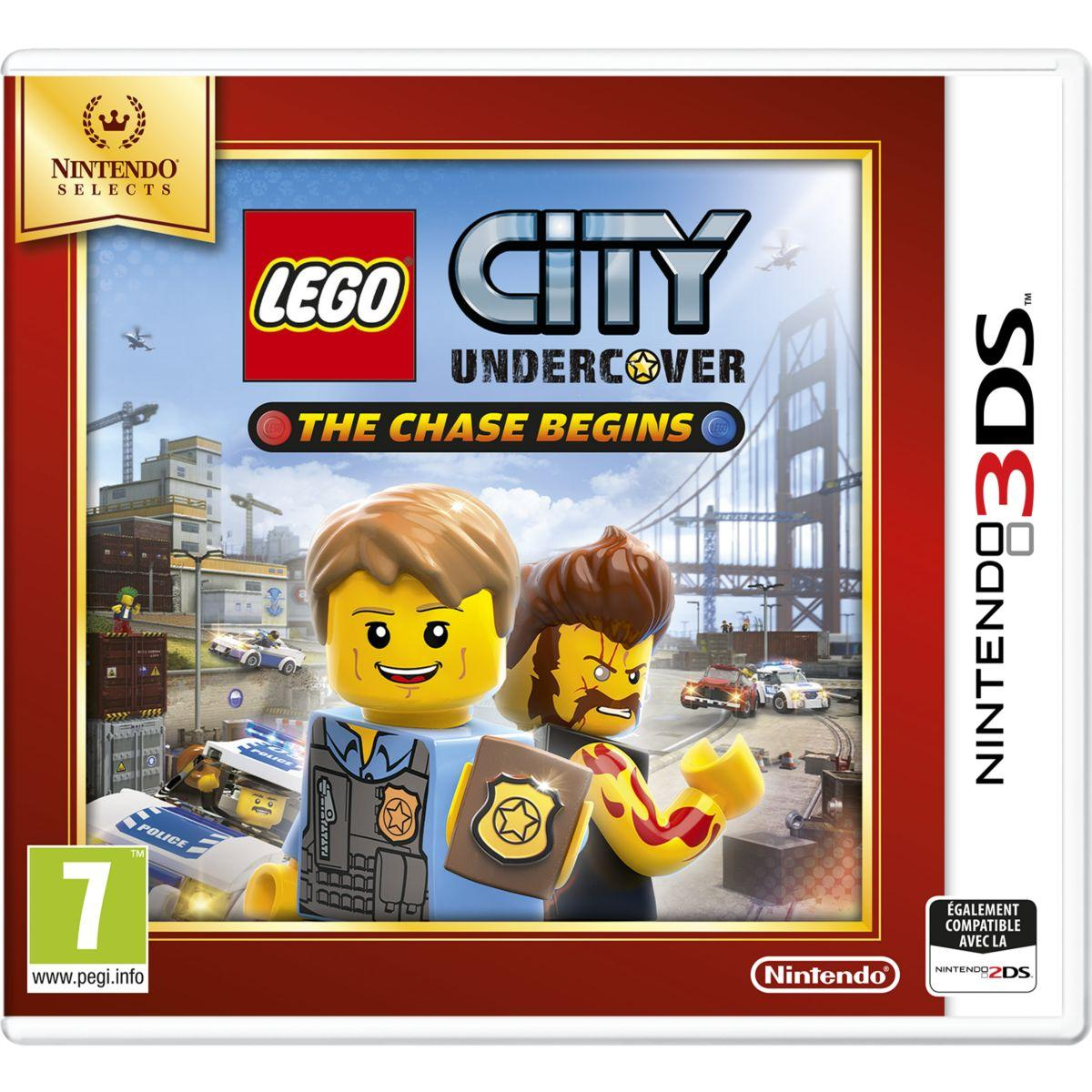 Jeu 3ds nintendo lego city undercover the chase begins selects - 2% de remise immédiate avec le code : cool2 (photo)