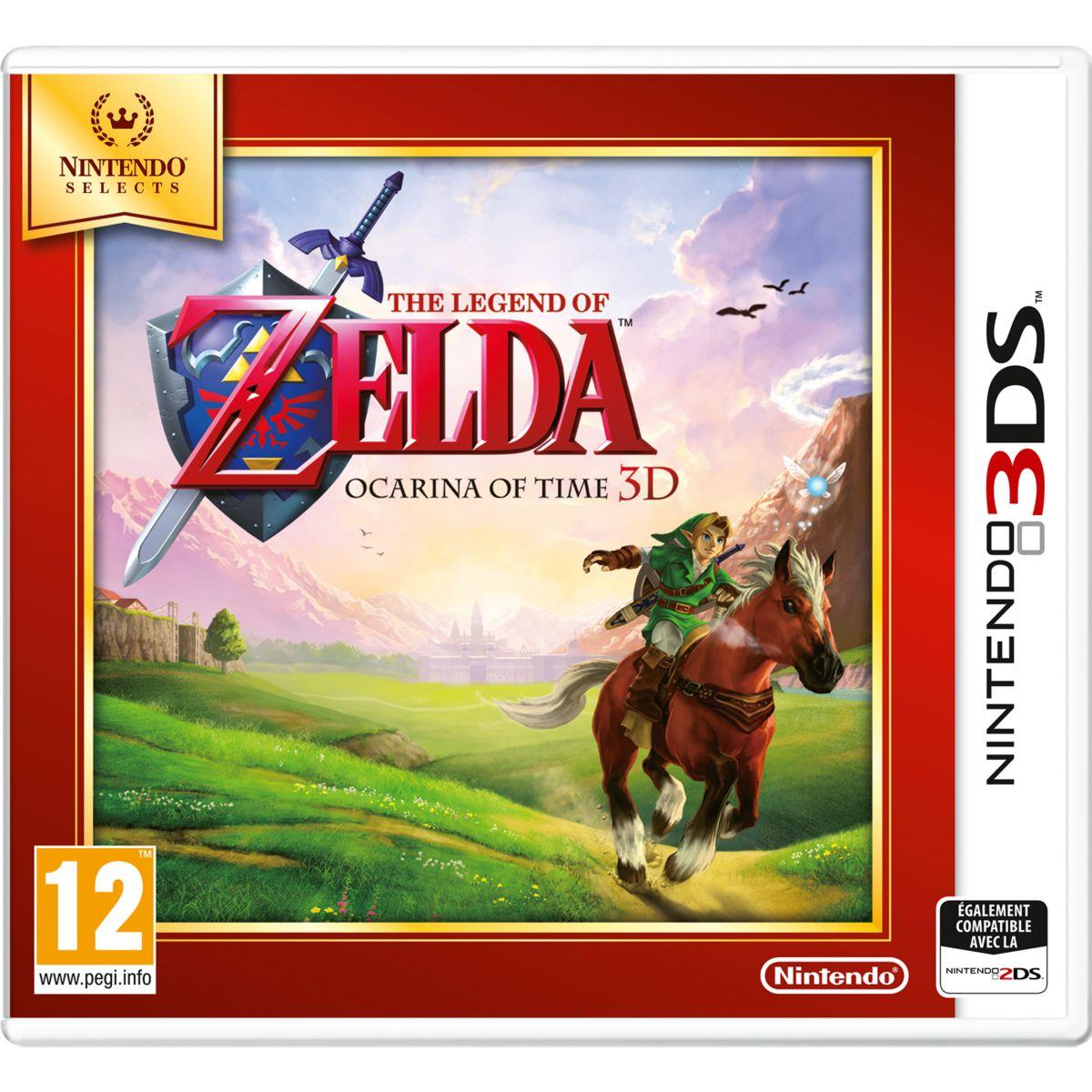 Jeu 3ds nintendo the legend of zelda ocarina time selects - 2% de remise immédiate avec le code : cool2 (photo)