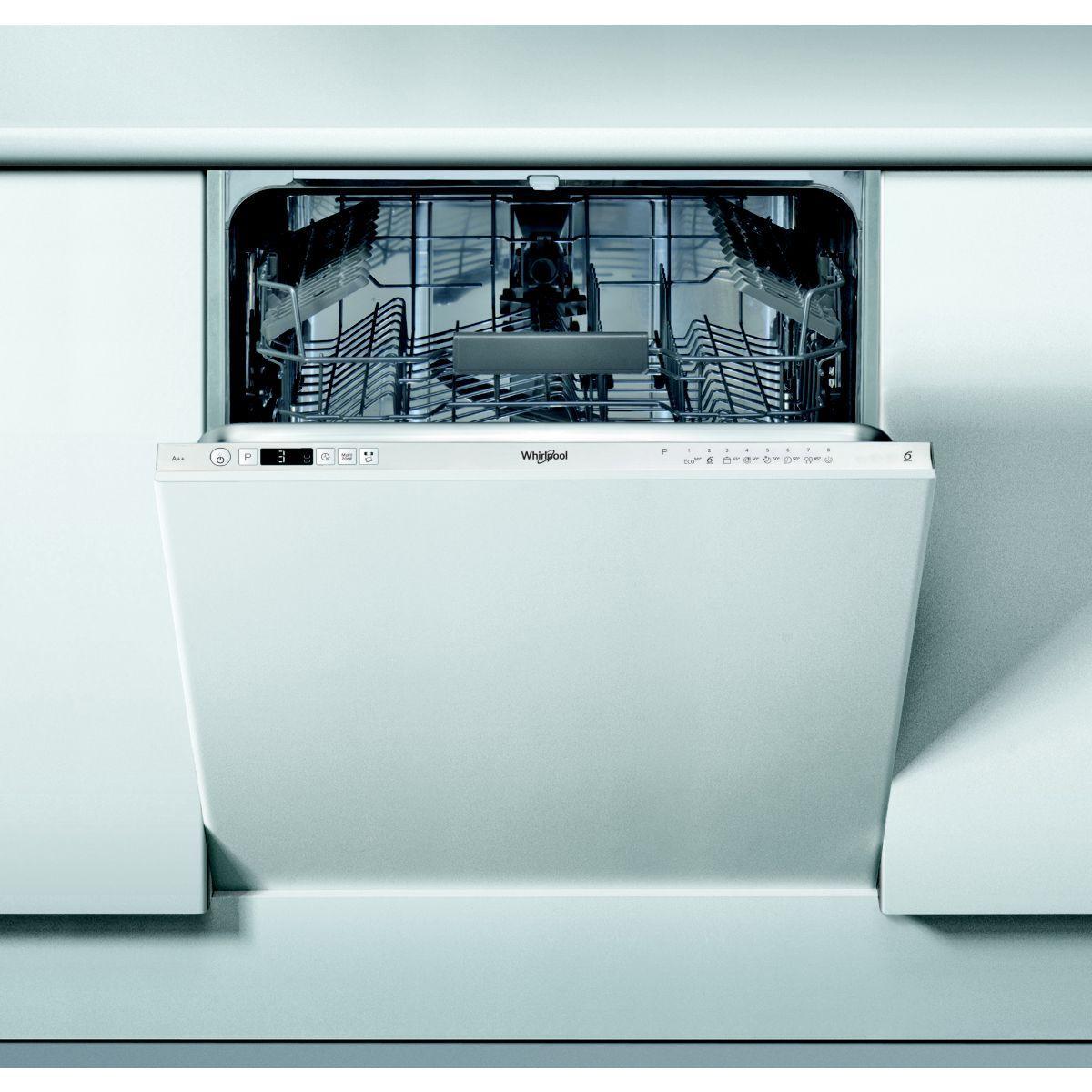 Lave vaisselle tout int�grable whirlpool wkic3c26