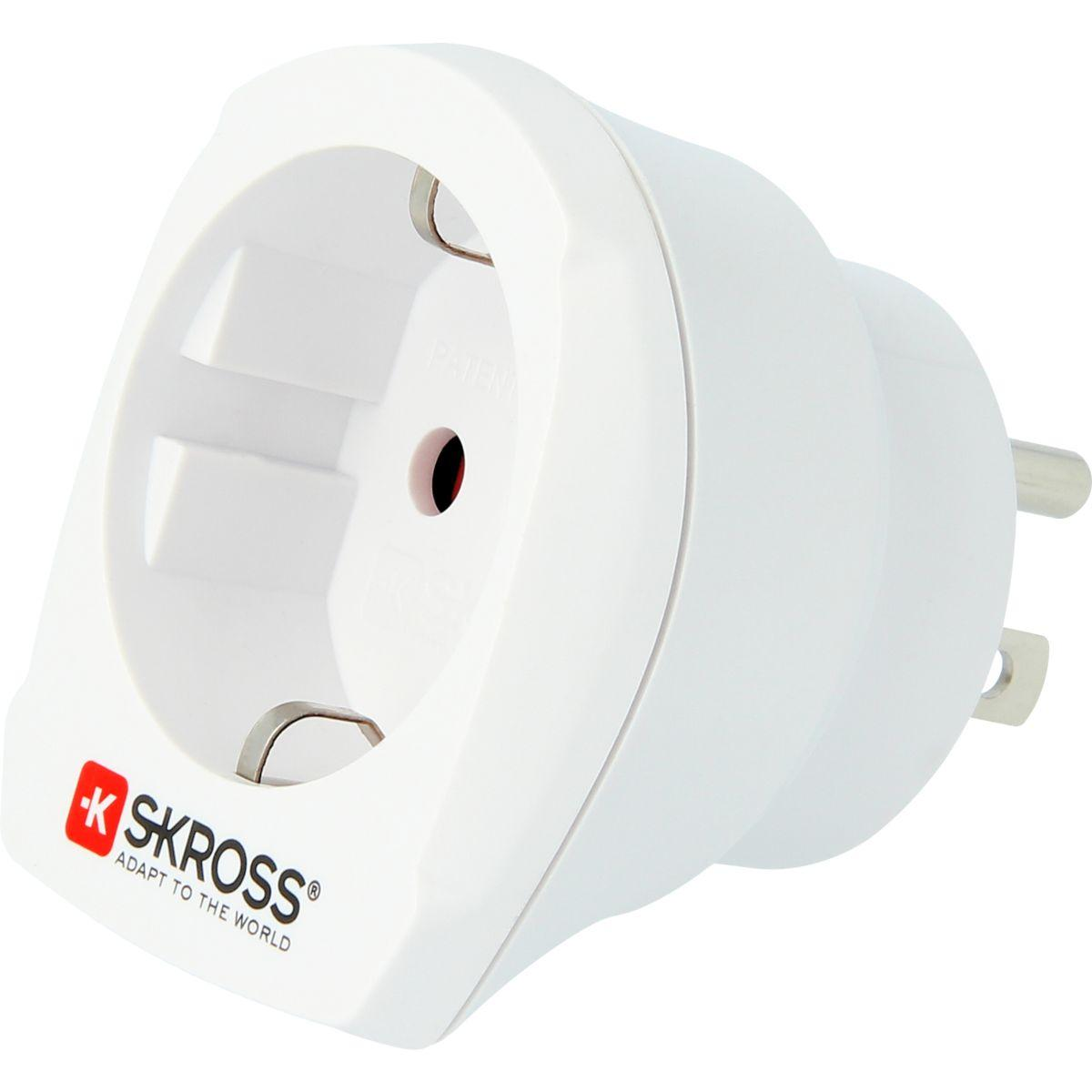 Adaptateur skross de voyage europe vers usa (photo)