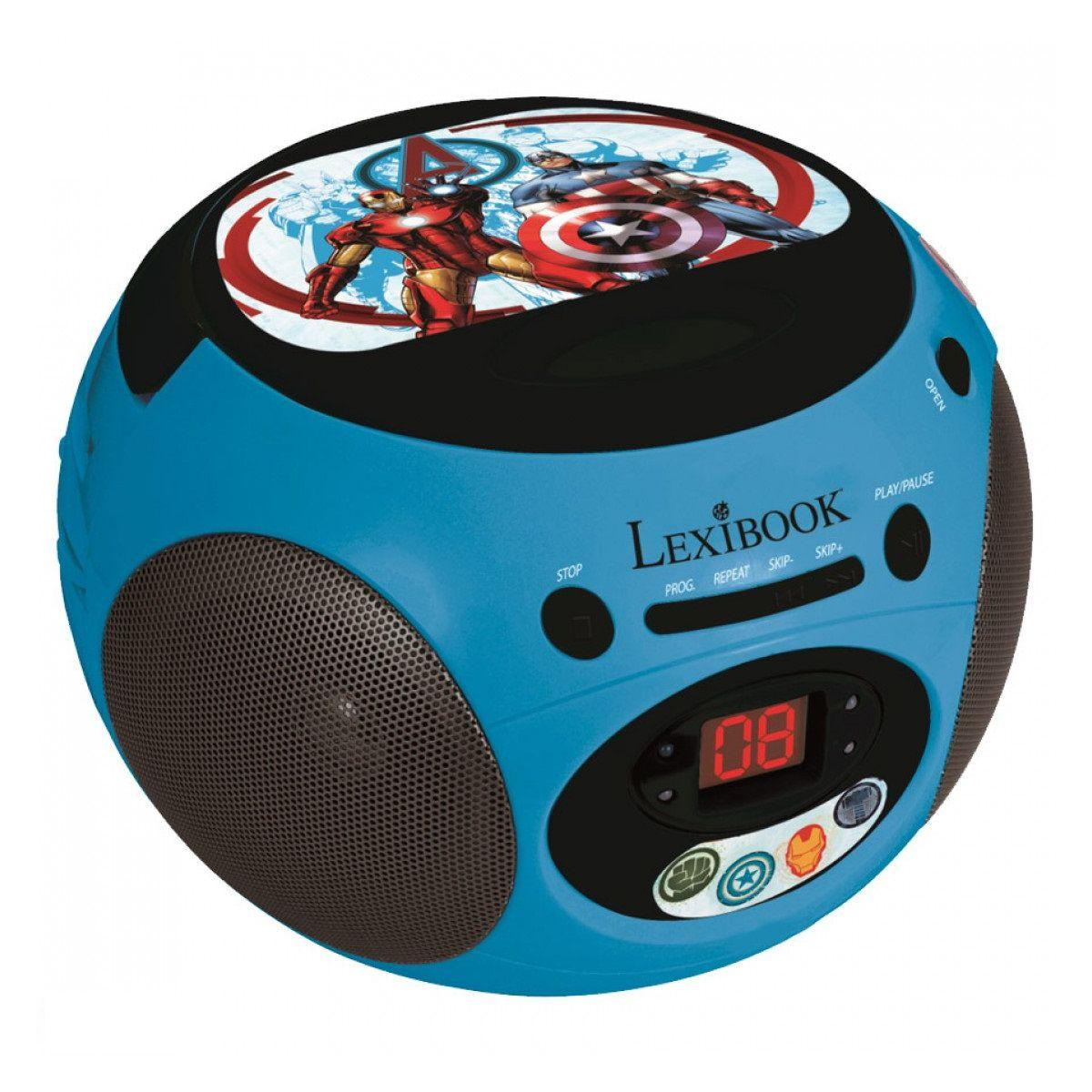 Radio cd lexibook rcd102av the avengers - 2% de remise imm?dia...