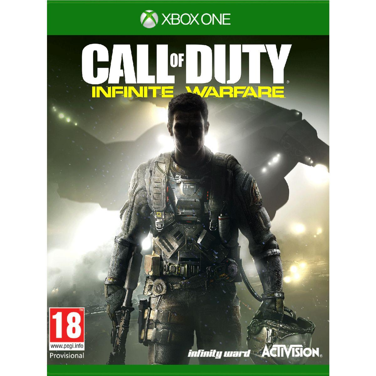 Jeu xbox one activision call of duty infinite warfare - livrai...