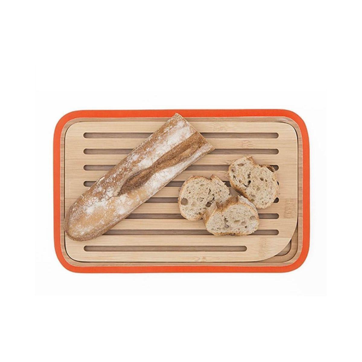 Planche pebbly à pain rouge 28x18 ramass - 20% de remise immédiate avec le code : pam20