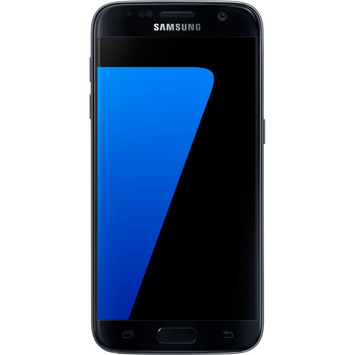 Pack promo smartphone samsung galaxy s7 32 go noir + etui samsung s view cover galaxy s7 noir - soldes et bonnes affaires à prix imbattables