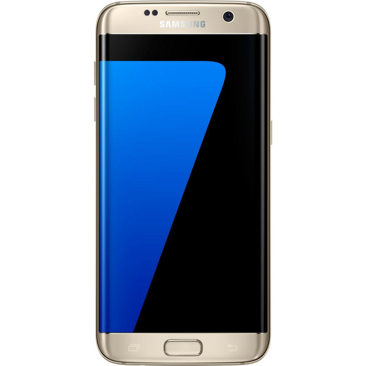 Pack promo smartphone samsung galaxy s7 edge or 32 go + etui samsung s view cover galaxy s7 edge gold - soldes et bonnes affaires à prix imbattables