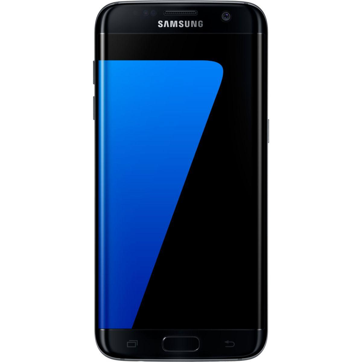 Pack promo smartphone samsung galaxy s7 edge noir 32 go + coque samsung cuir noir galaxy s7 edge - soldes et bonnes affaires à prix imbattables