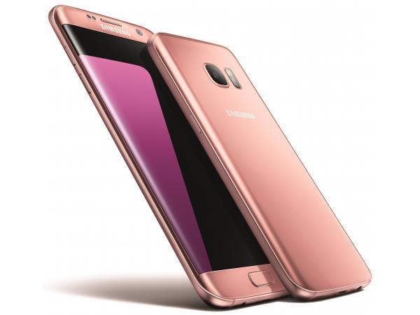 Pack promo smartphone samsung galaxy s7 edge rose 32go + coque samsung transparente galaxy s7 edge silver transparente - soldes et bonnes affaires à p
