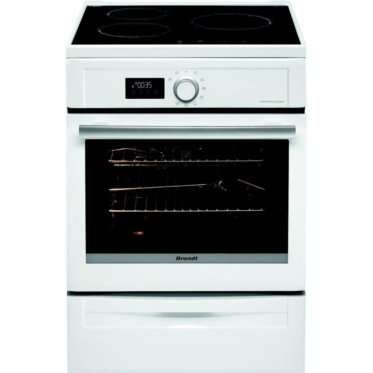 Cuisini�re induction brandt bci6600w (photo)