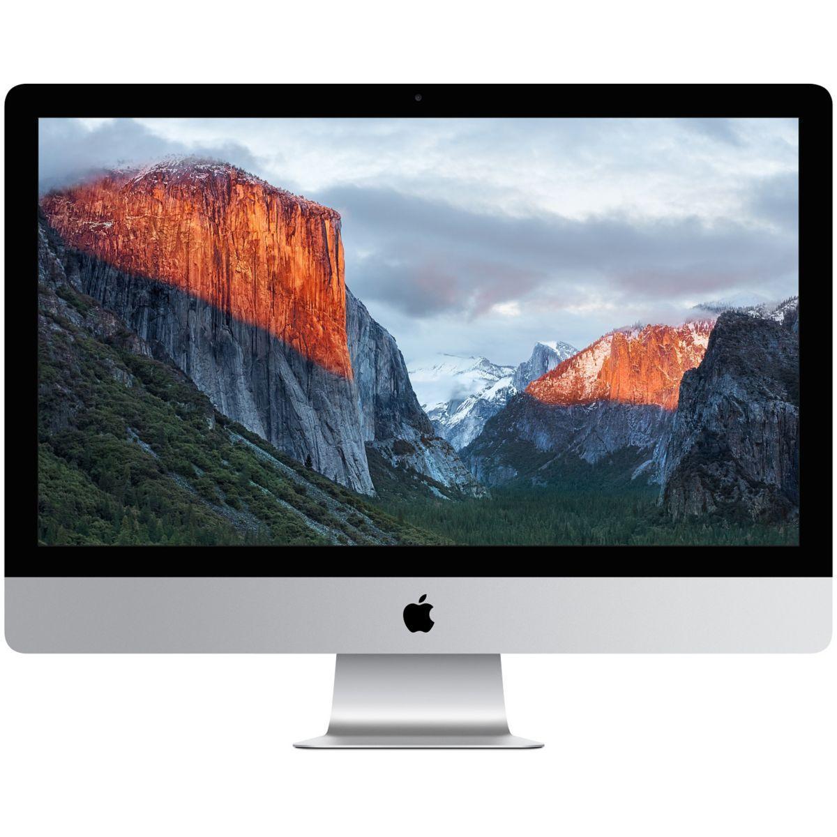 Apple imac 27 retina 5k i7 4ghz 1to flash amd r9 m395x (sur mesure) - soldes et bons plans