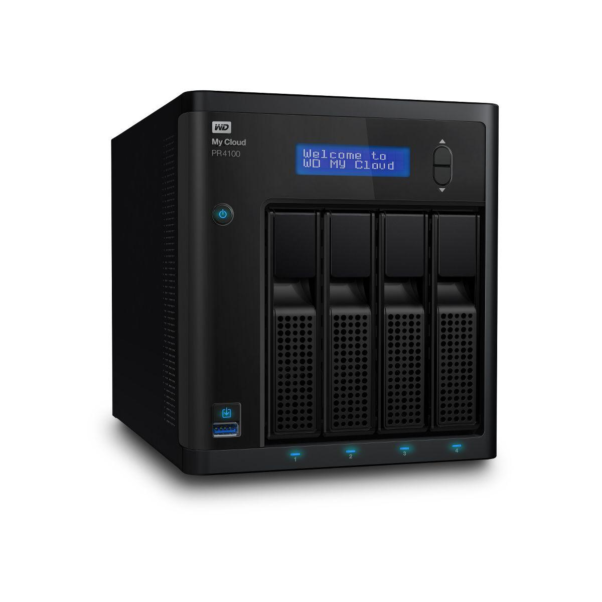 Serveur nas wd 2 baies nas my cloud pr4100 0to - 2% de remise ...
