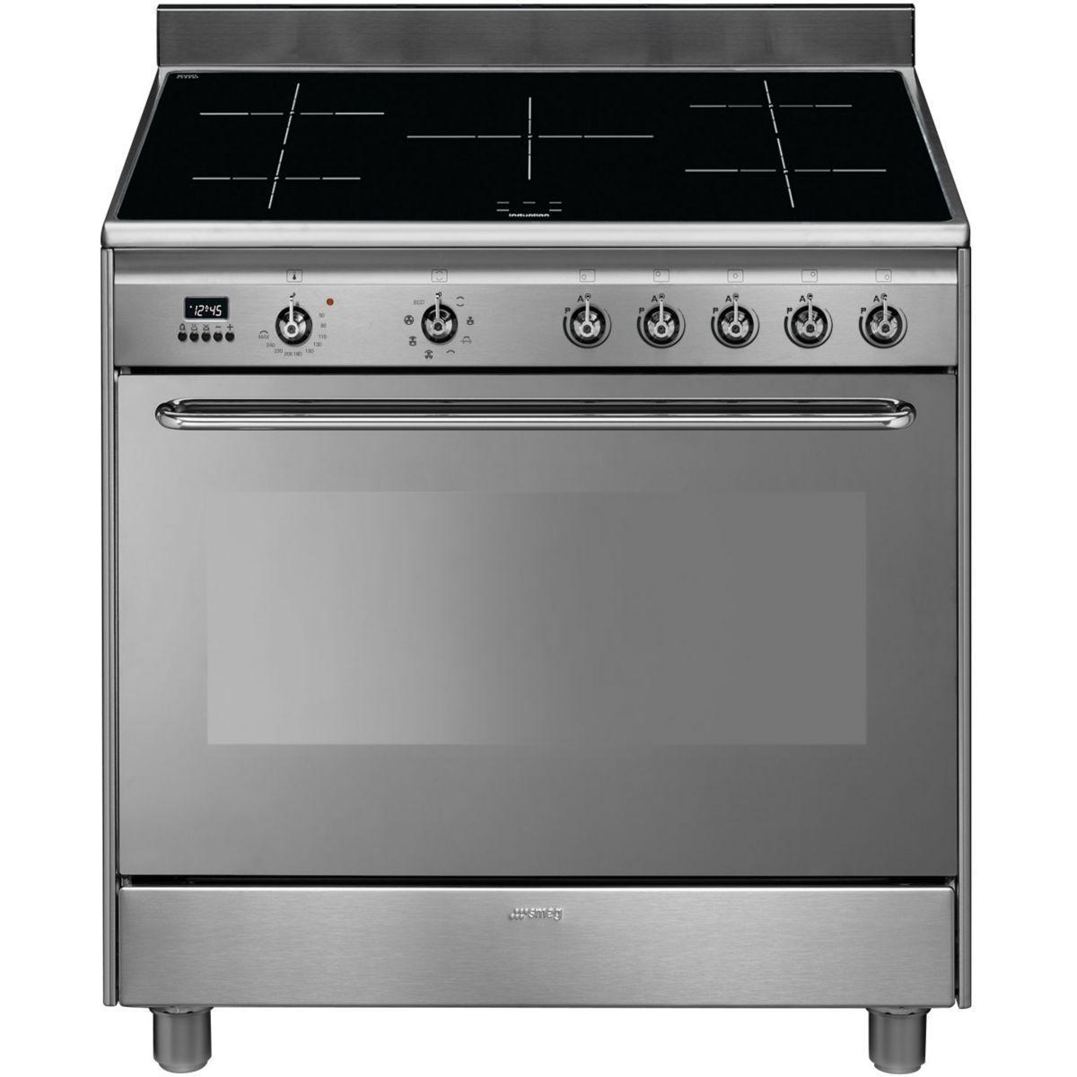 Piano de cuisson induction smeg cg90ix9 - 20% de remise imm�diate avec le code : gam20 (photo)