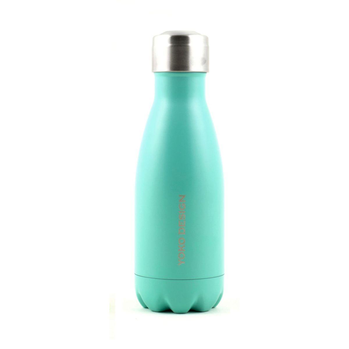 Bouteille isotherme yoko isotherme 260 ml turquoise mat - 20% de remise imm�diate avec l