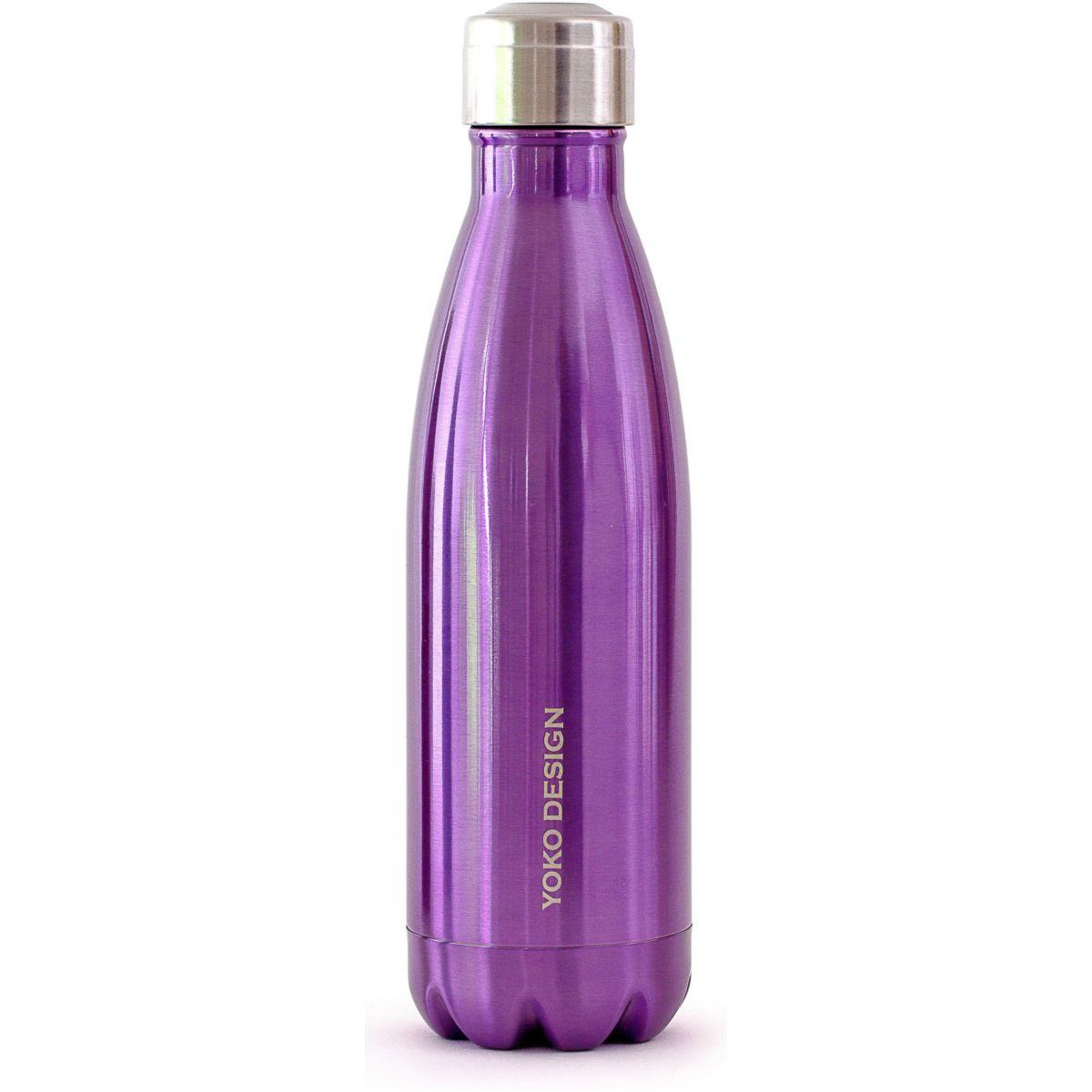 Bouteille yoko isotherme 500 ml violet b (photo)
