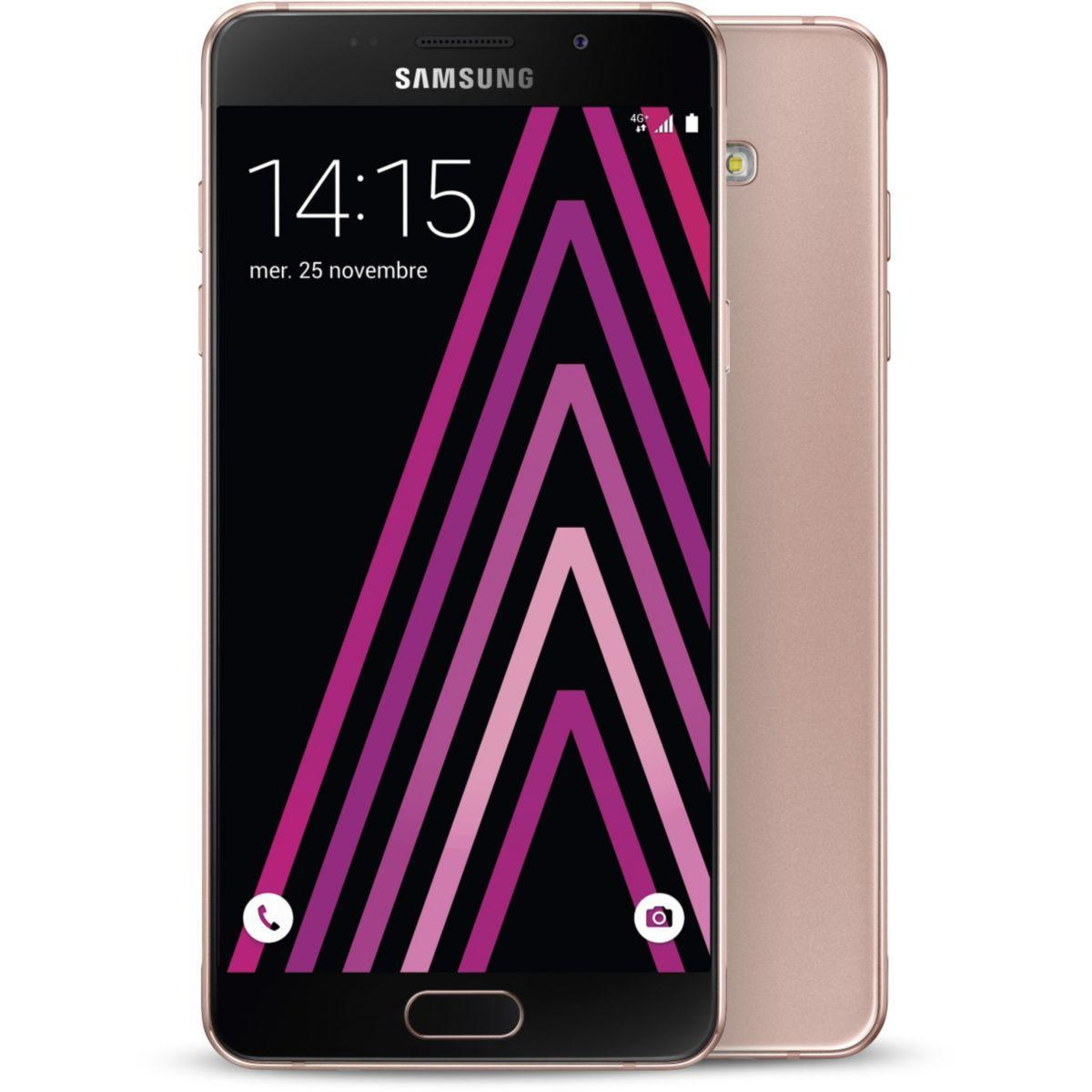 Pack promo smartphone samsung galaxy a5 rose edition 2016 + carte mémoire micro sd samsung 128go evo plus classe 10 + adaptateur - soldes et bonnes af