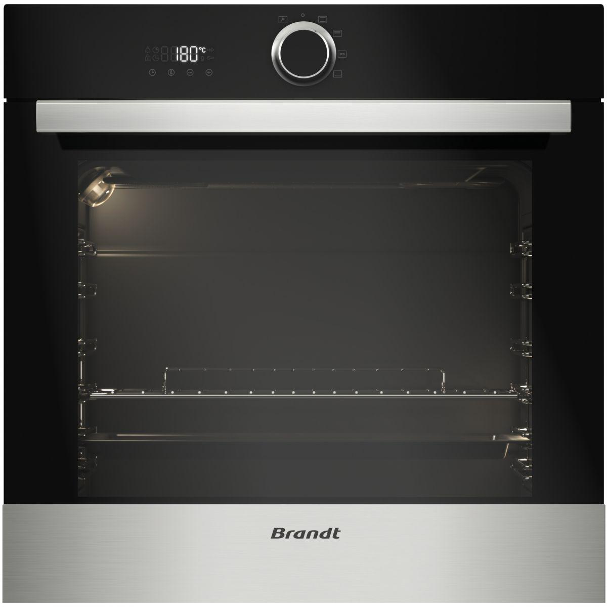 Four encastrable convection naturelle pyrolyse brandt bxp5132x (photo)