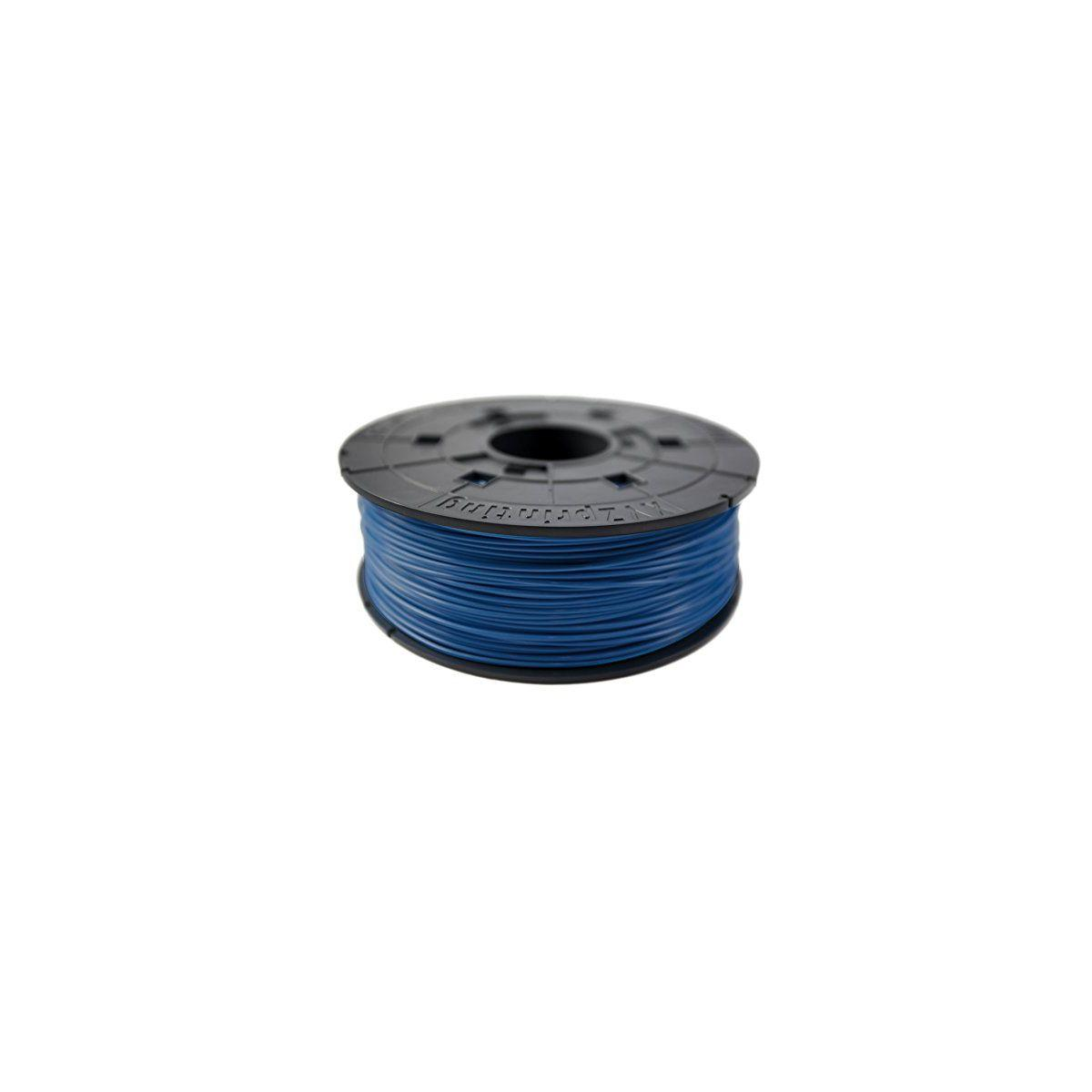 Filament 3d xyz printing bobine recharge abs bleu electrique -...