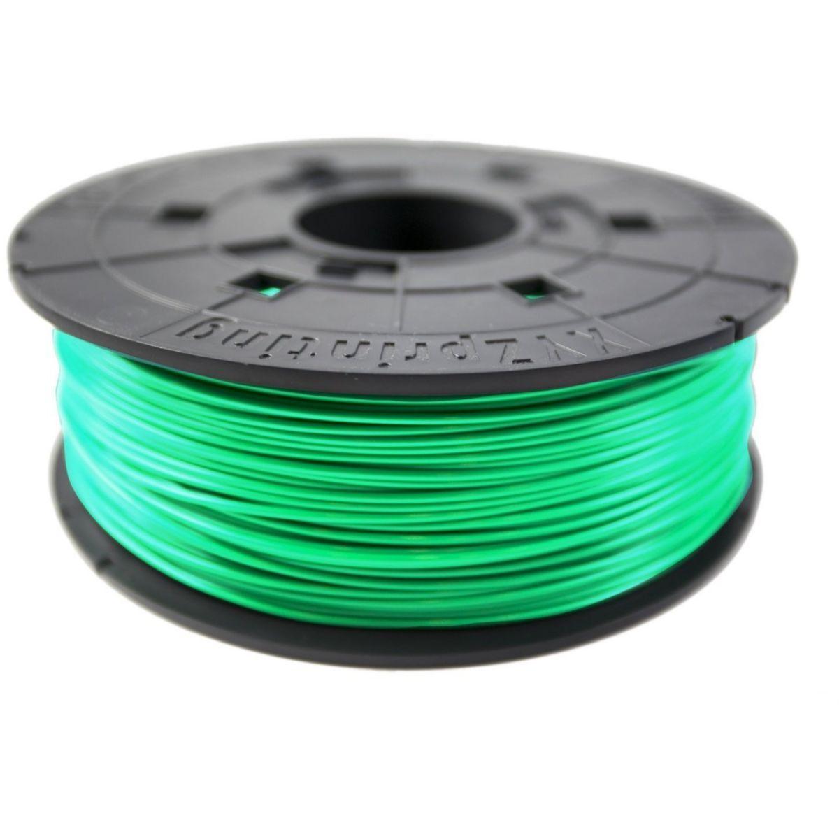 Filament 3d xyz printing bobine recharge abs vert clair - 10% ...