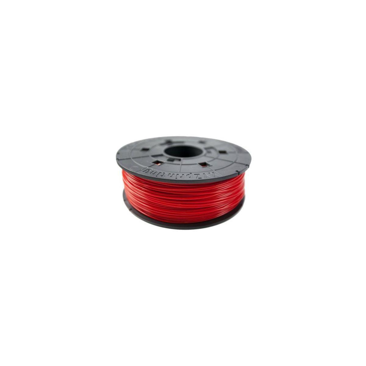 Filament 3d xyz printing bobine recharge abs rouge - 2% de rem...