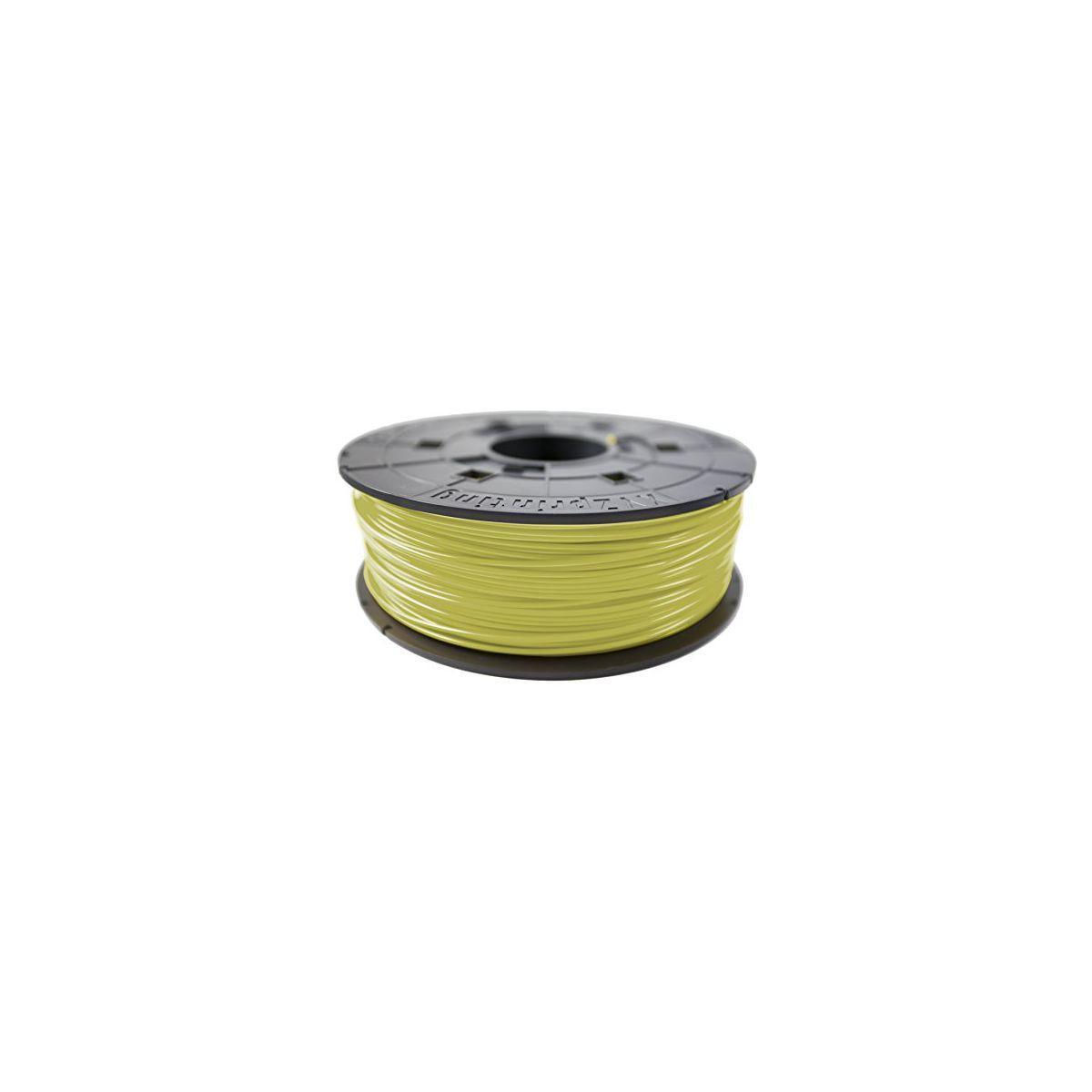 Filament 3d xyz printing bobine recharge abs jaune clair - 2% ...