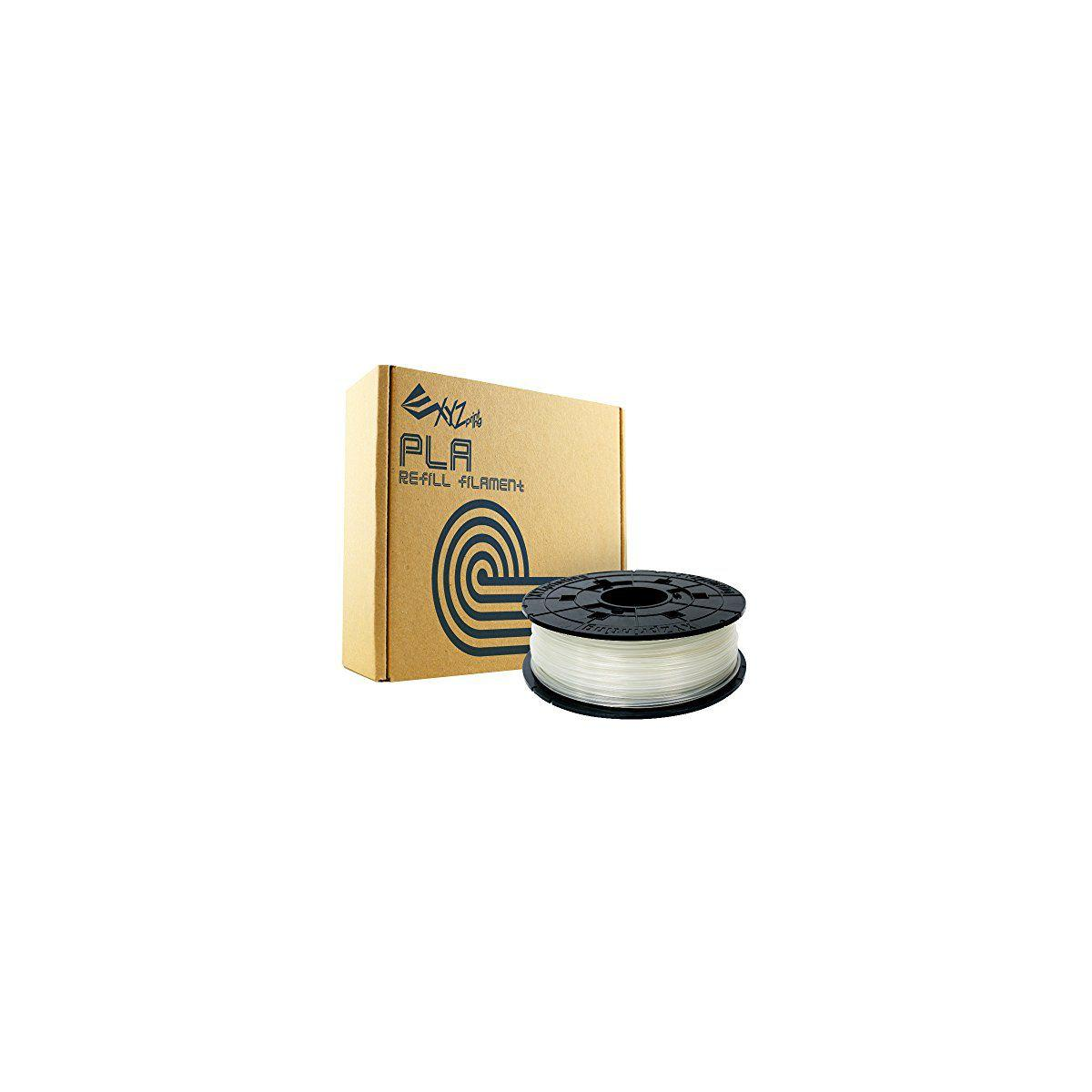 Filament 3d xyz printing bobine recharge pla naturel - 2% de r...