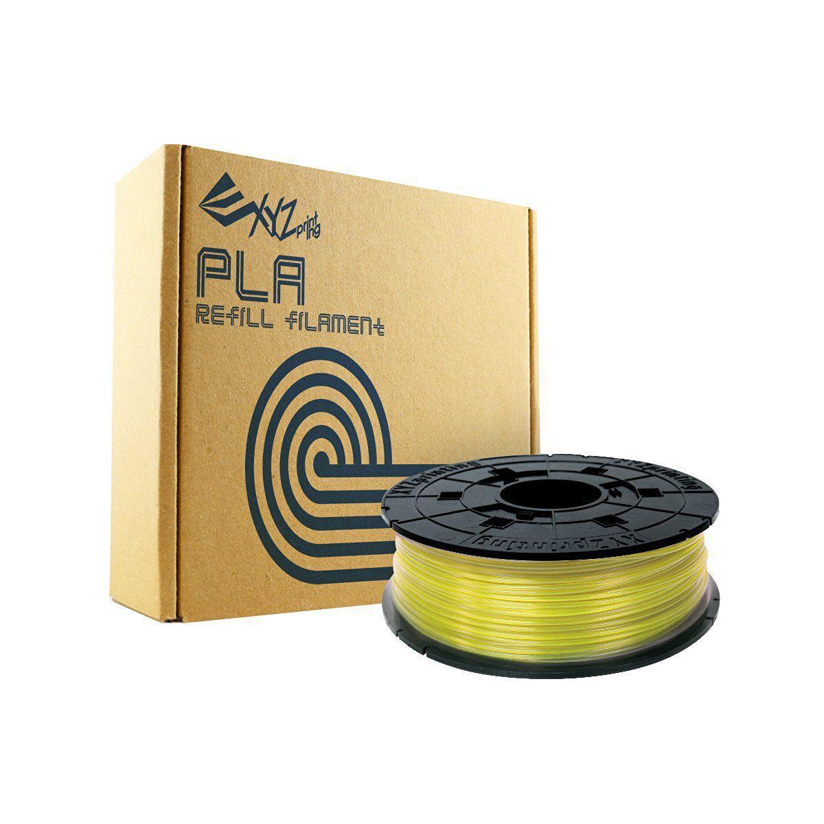 Filament 3d xyz printing bobine recharge pla jaune clair - 2% ...