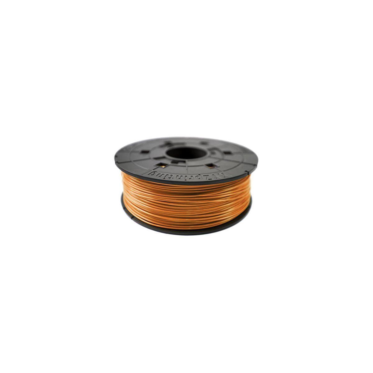 Filament 3d xyz printing bobine recharge pla orange clair - 2%...
