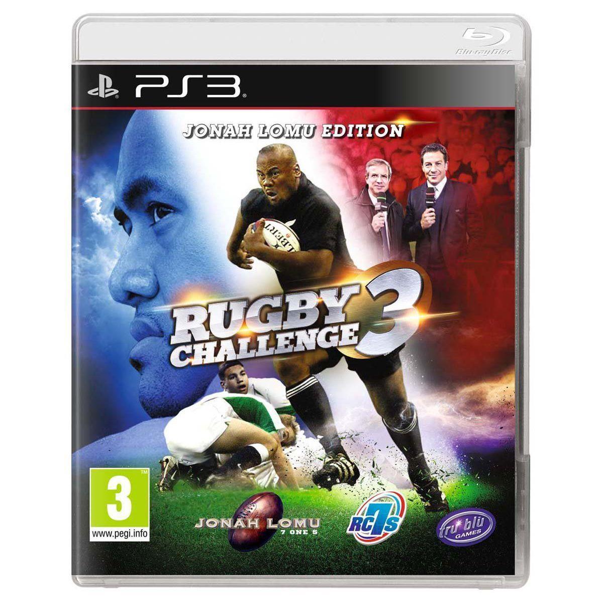 Jeu ps3 bigben rugbychallenge 3 - 3% de remise immédiate avec le code : multi3 (photo)