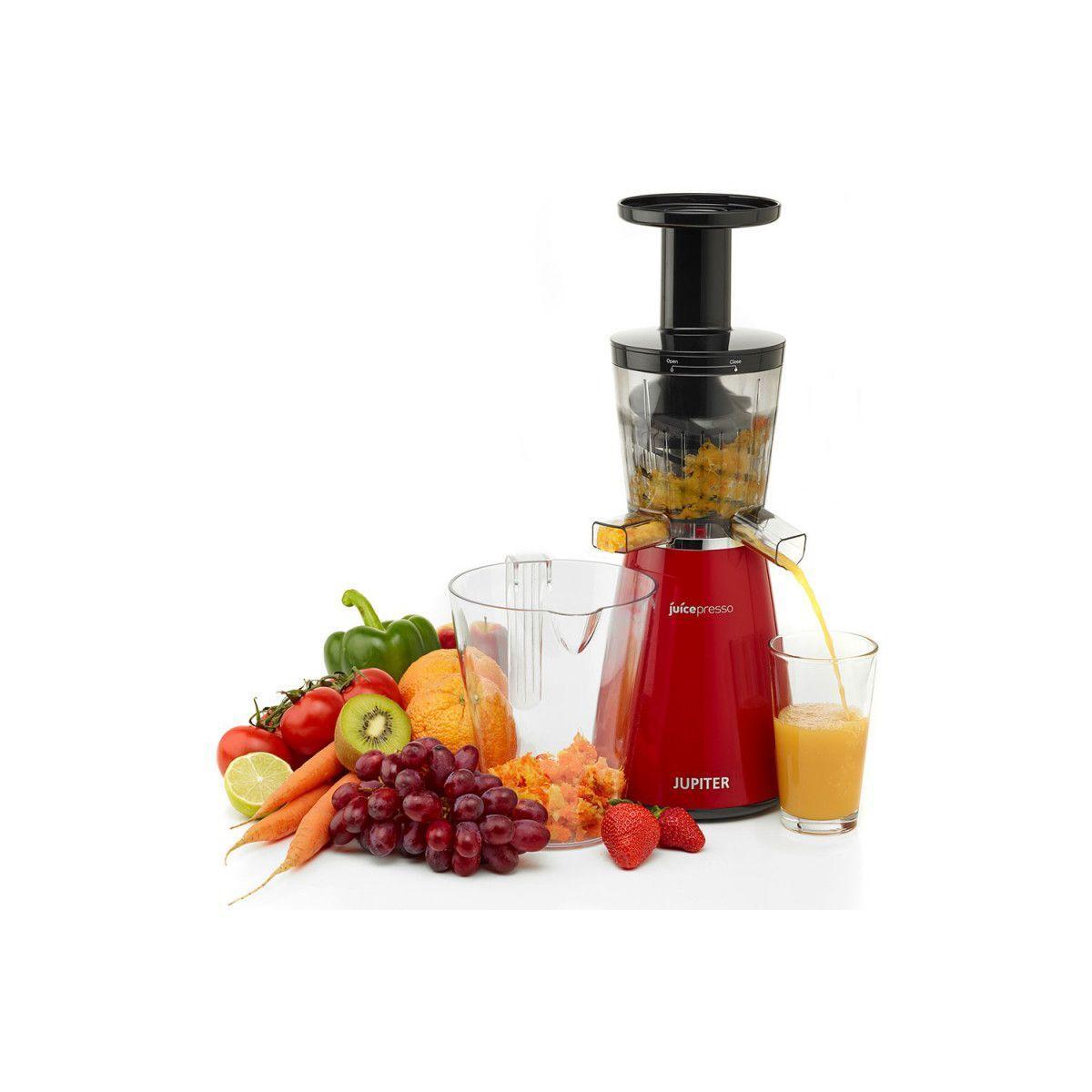 Extracteur de jus juicepresso 3 en 1 rouge - 10% de remise imm�diate avec le code : school10 (photo)