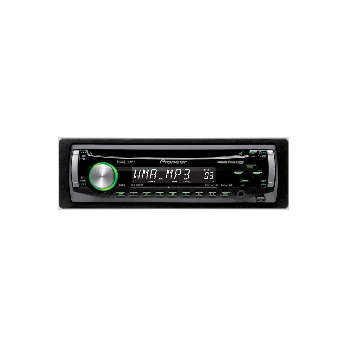 Auto-radio pioneer deh-1900ub - livraison offerte : code livre...