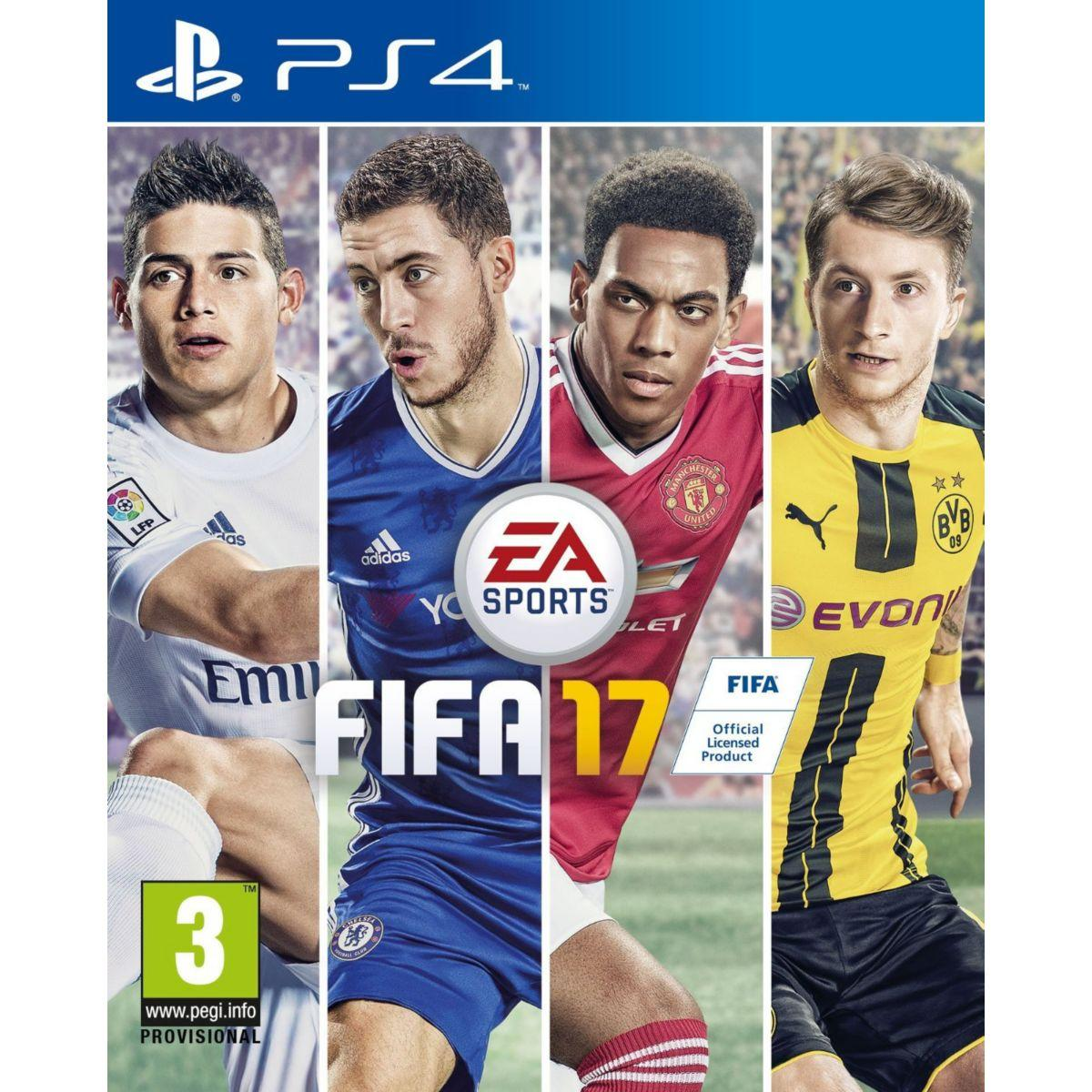 Jeu ps4 electronic arts fifa 17 (photo)